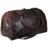 The Monte Vintage Weekendbag i Brun Kalvskinn - 33 L