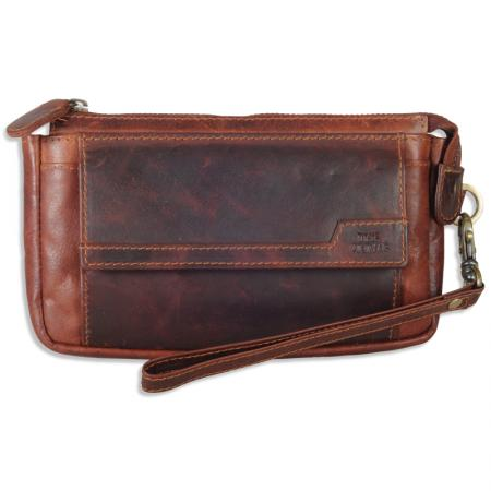 The Monte Vintage Mens Mobilebag in Calfskin Buy Iphone