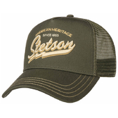 Stetson American Heritage Classic Cap Oliv - One Size(55-60cm)