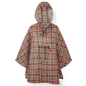 Reisenthel Glencheck Red Regnponcho One Size