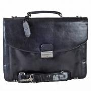 The Monte Svart Business Bag / Datorväska - 3 Rum - 15 L